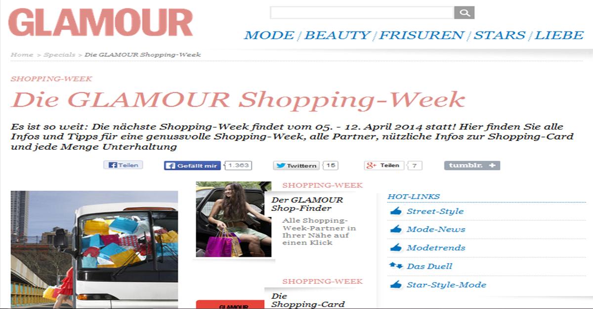 GlamourShoppingWeek