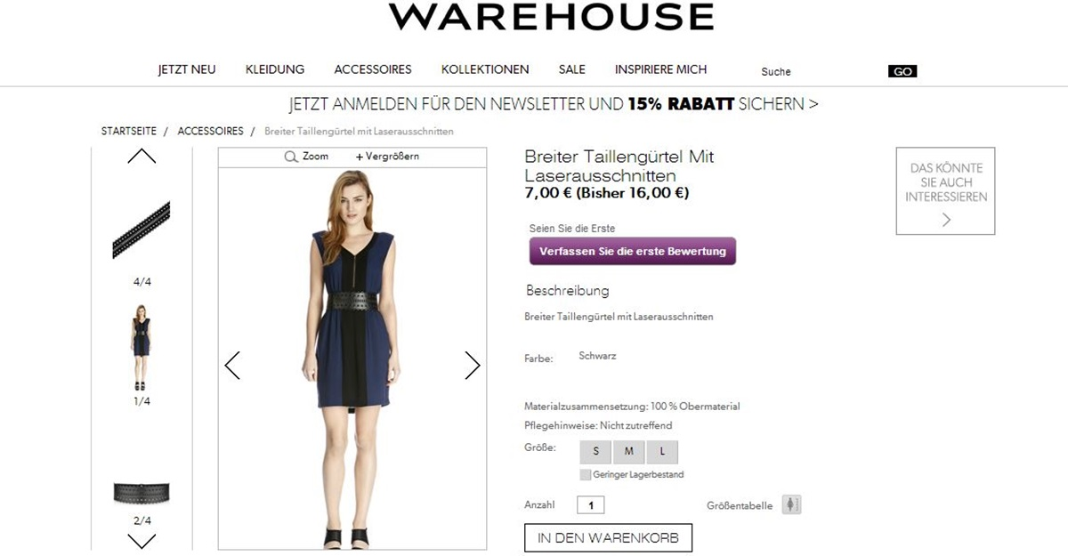 WarehouseGürtel