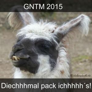 GNTM 2015: Diesmal pack ich's
