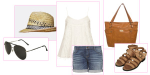 Luftiges City-Outfit für den Sommer