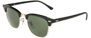 Ray Ban Clubmaster Sonnenbrille: Cooler Retro Look seit 1986